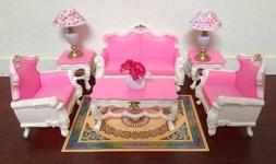 My Fancy Life Dollhouse Furniture - Deluxe Living Room Plays