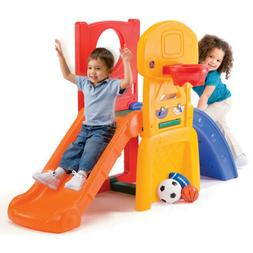 Step2 All Star Sports Climber Toddler Jungle Gym Slide 3 Bal