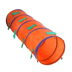 chinatera Children Animal Tunnel Pop Up Discovery Tube Carto