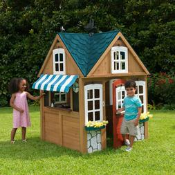 KidKraft Backyard Wooden Seaside Cottage Outdoor Children Ki