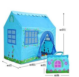 Biscount Blue House Pop-Up Play Tent For Boy Indoor & Outdoo
