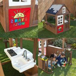 BRAND NEW - KidKraft Ryan's World Outdoor Playhouse with dog