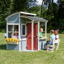 Backyard Discovery Breezy Point Wooden Playhouse Kitchen Out