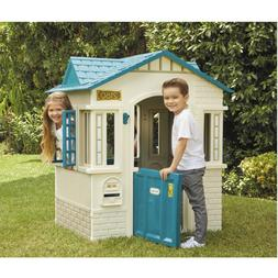 Cape Cottage Playhouse Outdoor Patio Plastic Play House Acti
