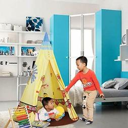 ALPIKA Castle Play Tent Indoor Outdoor Kids Playhouse for Ch