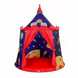 ALPIKA Castle Play Tent Indoor&Outdoor Kids Playhouse with C