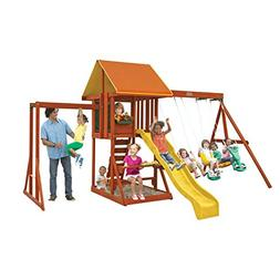 cedarbrook wooden playset