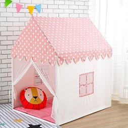 Wonder Space Childern Play House Tent - 100% Natural Cotton