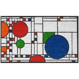 Frank Lloyd Wright Coonley Playhouse Doormat - Decorative Co