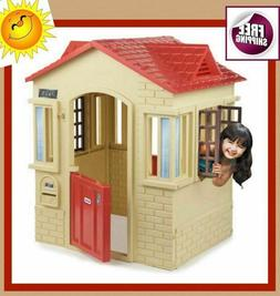 Cope Cottage Playhouse Patio Outdoor Play House Activity Pla