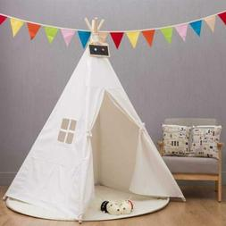 Cotton Children Indian Tent Teepee Play Sleeping Playhouse I