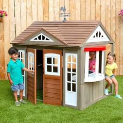 KidKraft Country Vista Kids Childrens Playhouse Indoor Outdo