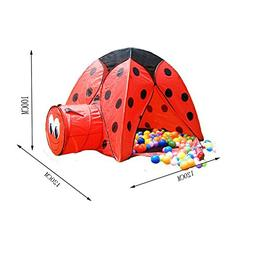 PANDA SUPERSTORE Cute Beatle Kids Indoor/Outdoor Play Tent w