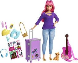 Barbie Daisy Travel Doll & Accessories