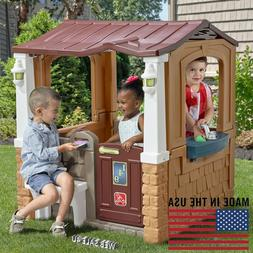 Deluxe Playhouse Outdoor Indoor Large Kids Toddler Dutch Sty