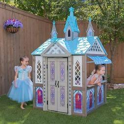 KidKraft Disney Frozen Arendelle Wooden Playhouse Set Outdoo