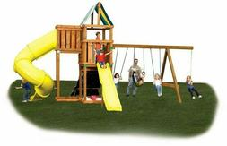 DIY Outdoor Backyard Playground Hardware Kids Play Set Swing