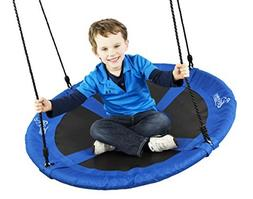 Flying Squirrel Giant Rope Swing - 40 Saucer Tree Swing - Bl