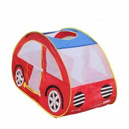Foldable Tent 130*70*80cm Red Sports Car Play Tent Outdoors