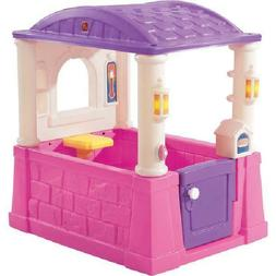 Step2 Four Seasons Playhouse outdoor backyard playset, Pink