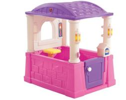 Four Seasons Playhouse Pink Purple Home House Pretend Detail