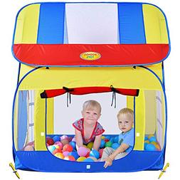 WooHoo Play Tents & Tunnels Toys Big Children Playhouse Pop-