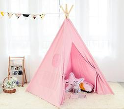 Steegic Outdoor & Indoor Great Canvas Indian Teepee Playhous