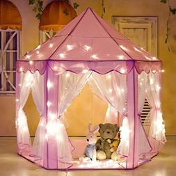 e-joy Kids Indoor/Outdoor Play Fairy Princess Castle Tent, P