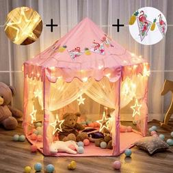Porpora Kids Indoor/Outdoor Princess Castle Play Tent Fairy