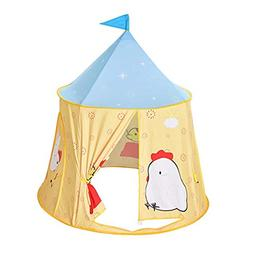 chinatera Indoor Outdoor Teepee Tent, Kids Indian Style Play