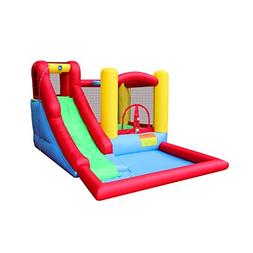 BestParty Inflatable Water Slide Bounce House Castle Inflata