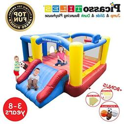 PicassoTiles KC102 12x10 Foot Inflatable Bouncer Jumping Bo