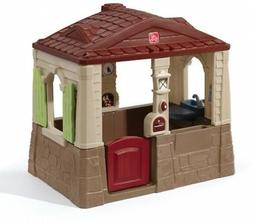 Kid Modern Playhouse Open Design, Durable Home Outdoor Play,