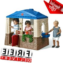 Kid Playhouse Plastic Boy Girl Children Toddler Indoor Outdo