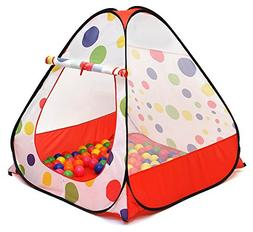 Kiddey Kids Ball Pit Play Tent -Pops up No Assembly Required