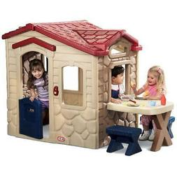 Kids Backyard Playhouse Little Tikes Picnic on the Patio Out