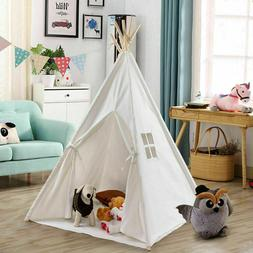 Kids Indoor Outdoor White Indian Tent Teepee Play Play House