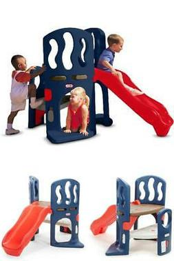 Kids Outdoor Play Set Child Toddler Slide Climber Toy Wide M