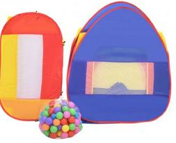 Kids Outdoor Play Tent Pop Up Ball Pit Indoor Playhouse Hut