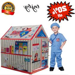 Kids Play House Indoor Outdoor Tent Game Up for Boys Girls C