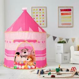 Kids Play House Tent Indoor Outdoor Easy Folding Ball Pit Hi