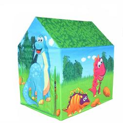 Kids Play Tent Dinosaur Playhouse for Children Indoor and Ou