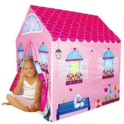Kids Play Tent Little Princess House Indoor Outdoor Girls Pl
