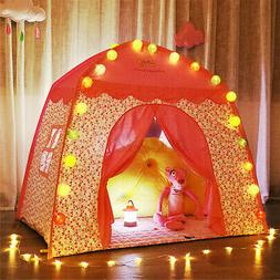 Kids Play Tent Princess Castle Girl Boy Play House Indoor Ou