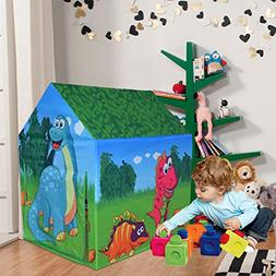 Ancaixin Kids Play Tents Toys Fordable Pop Up Castle Playhou