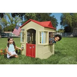 Kids Playhouse Outdoor Backyard Outside Kid Toddler Playhous