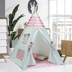 Kids Teepee Tent for Kids Girls Tee Pee Kids Tent with Teepe