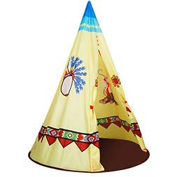 ALPIKA Kids Teepee Tent for Children to Play Indoor and Outd