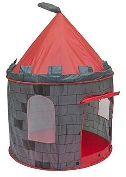 Kids Boys Knight Castle Play Tent Indoor Outdoor Playhouse P