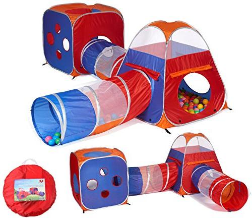 1 pop play tent tunnel